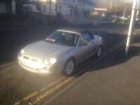 MGF 1.6 CONVERTIBLE 2001 PRIVATE REG ONLY 40k