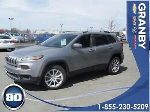 2014 Jeep Cherokee Limited   AWD  NAVIGATION  CUIR