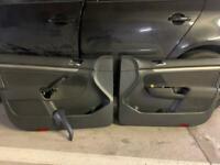 Volkswagen Golf Mk5 interior door cards front pair in great condition - bargain