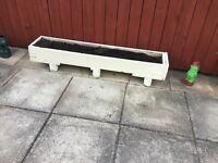 5ft plant box with soil
