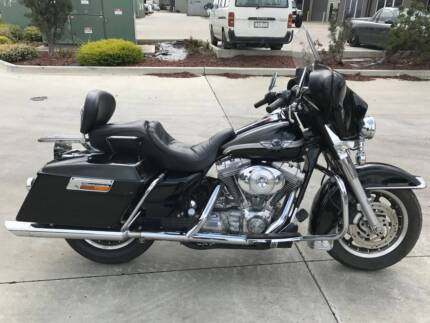 HARLEY DAVIDSON FLH 100TH 06/2003MDL 52846KMS PROJECT OFFERS