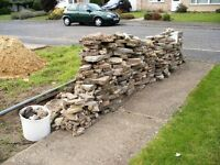 Crazy paving plus rubble. Photo attached with quantity. Collection needed a.s.a.p.