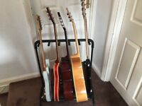 5 guitar stand & twin guitar stand