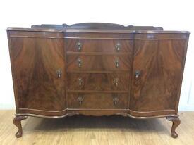 Beithcraft 1950s walnut sideboard