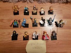 Complete set of series 15 Lego minifigures