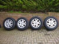 Free lander 2 wheels c/w winter tyres £460 Ono