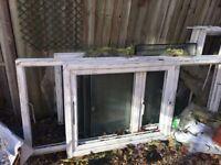 Six double glazed windows