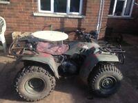hond trx350d spares or repairs