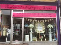 Wedding and Party Shop - Customer Service Retail Assistant