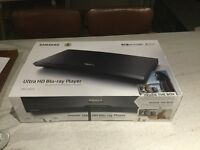 Samsung Ultra HD Blu-ray Player (inc. 3 films) - Brand new & sealed
