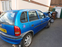 vauxhall corsa 1.4 spares or repairs