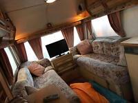 Caravan coachman genius 2 berth plus awning