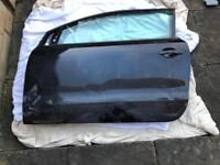 Damaged VW polo car door