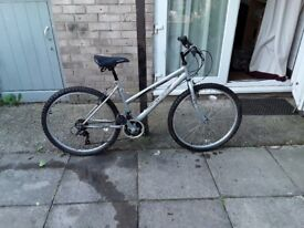 26 wheel 17 frame 18 gears all working in good condition can deliver for petrol cost no offers