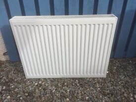White, as new radiator in great condition.