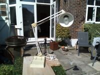 White Angle Lamp in working order