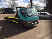mitsubishi canter recovery