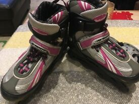 American Schwinn Roller Blades/ inlines skates adjustable adult size 1 to 4