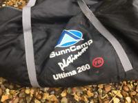 SUNNCAMP ULTIMA 260 Platinum caravan porch awning