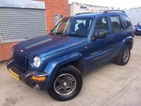 54 Jeep Cherokee 2.8 CRD Extreme Sport DIESEL AUTO - MOT Nov - S/H - 3 Months Warranty - PX WELCOME