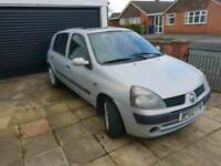 Heading is : Renault Clio 2002 1.2 Expression + Manual + 5 Door + HPI Clear
