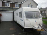 Bailey Ranger 550/6 2008 6 Berth Caravan with AirCon