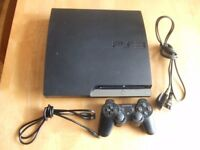 Playstation 3 PS3 160GB Slim Console Controller CECH-2503A Collection from Essex