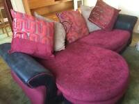 DFS 3 seater corner sofa
