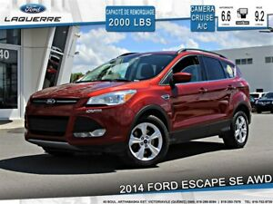 2014 Ford Escape SE**AWD*CAMÉRA*BLUETOOTH**