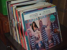 "120 x 12"" 1980's Pop Vinyl Record Collection"