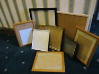 9 Assorted Picture / Photo Frames
