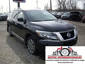 2014 Nissan Pathfinder SL 4X4 V6 7 PASSAGERS MAG SROOF PANO CAME