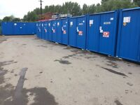 BRAND NEW Secure self store containers 24hrs, access