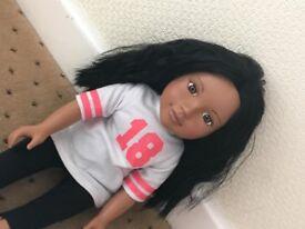 Design A Friend 'Elle' doll