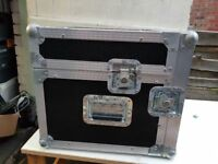 Large DJ Music flight case for vinyl / mixer / Audio visual equipment