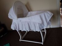 Mothercare Moses Basket + Stand