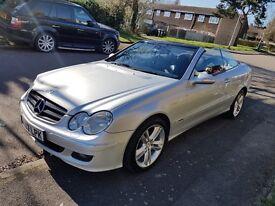 Mercedes CLK 200 Convertible Avangard 2007
