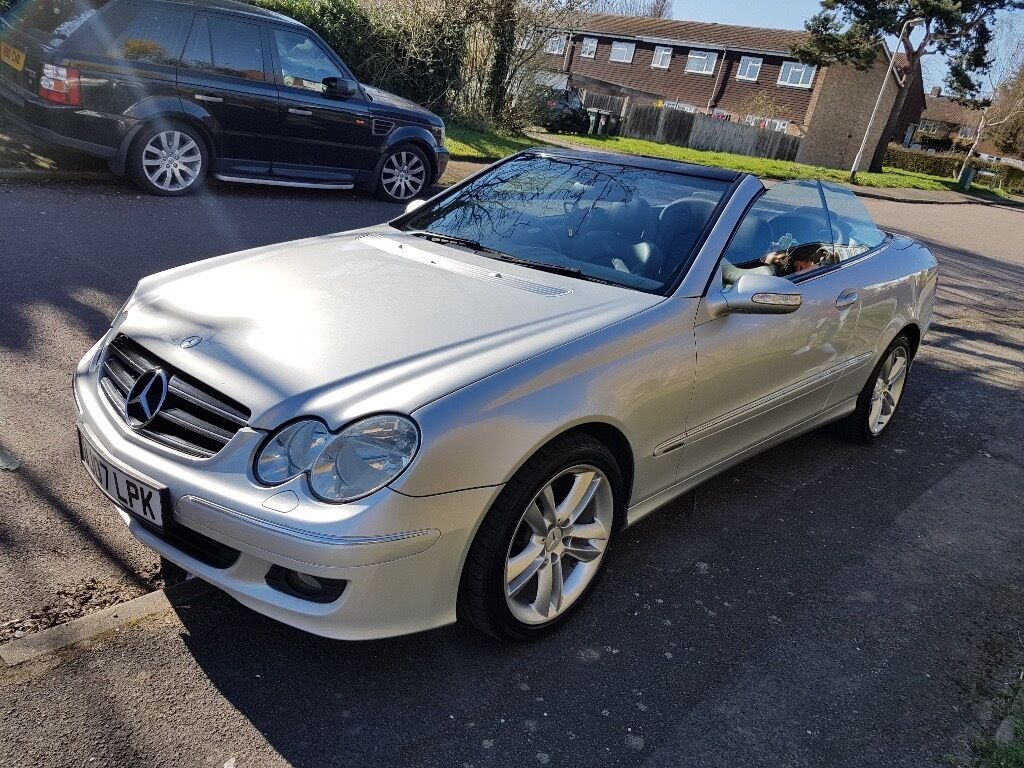 mercedes clk 200 convertible avangard 2007 in st albans. Black Bedroom Furniture Sets. Home Design Ideas