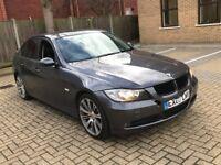 2007 BMW 320D 3 SERIES 2.0 SE DIESEL AUTOMATIC SALOON 5 SEAT LEATHERS I DRIVE SAT NAV N 320 5 1 X3
