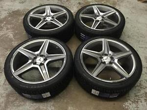 19 Mercedes Benz Wheels 5x112 and All Season Tires (MERCEDES CARS) Calgary Alberta Preview