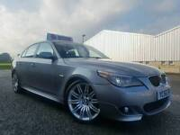 "Nov 2006 530d M Sport Auto! ONLY 77000 MILES! Full Leather! Xenons! Sat Nav! Original 19"" ALLOYS!"