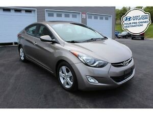 2013 Hyundai Elantra GLS! HEATED SEATS! SUNROOF! $78 BI-WEEKLY!