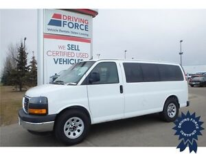 2013 GMC Savana Passenger SL All Wheel Drive, 70,046 KM, 5.3L V8