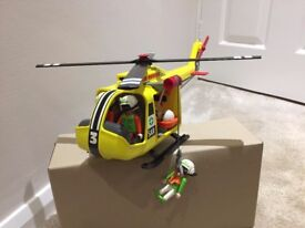 Playmobil Air Ambulance Helicopter