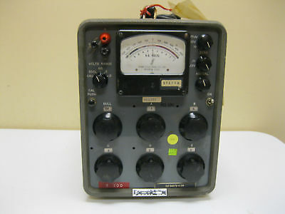 John Fluke Differential Dc Voltmeter Model 801