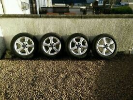Winter Wheels & Tyres - Unmarked (Bargain £190)