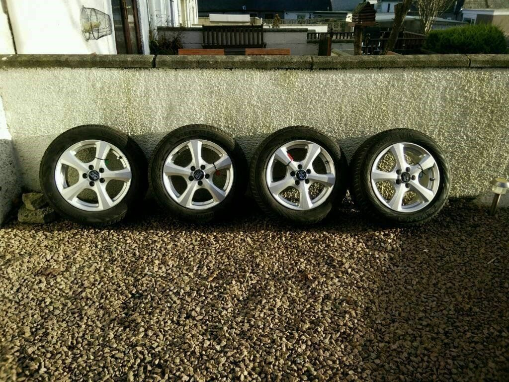 Winter Wheels & Tyres - Unmarked (Bargain £190)