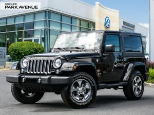 2017 Jeep Wrangler Sahara // Bluetooth + Toit souple 141$/sem