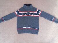 Brand New Fatface Boys Knitwear Age 4-5
