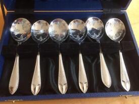 Retro spoon set